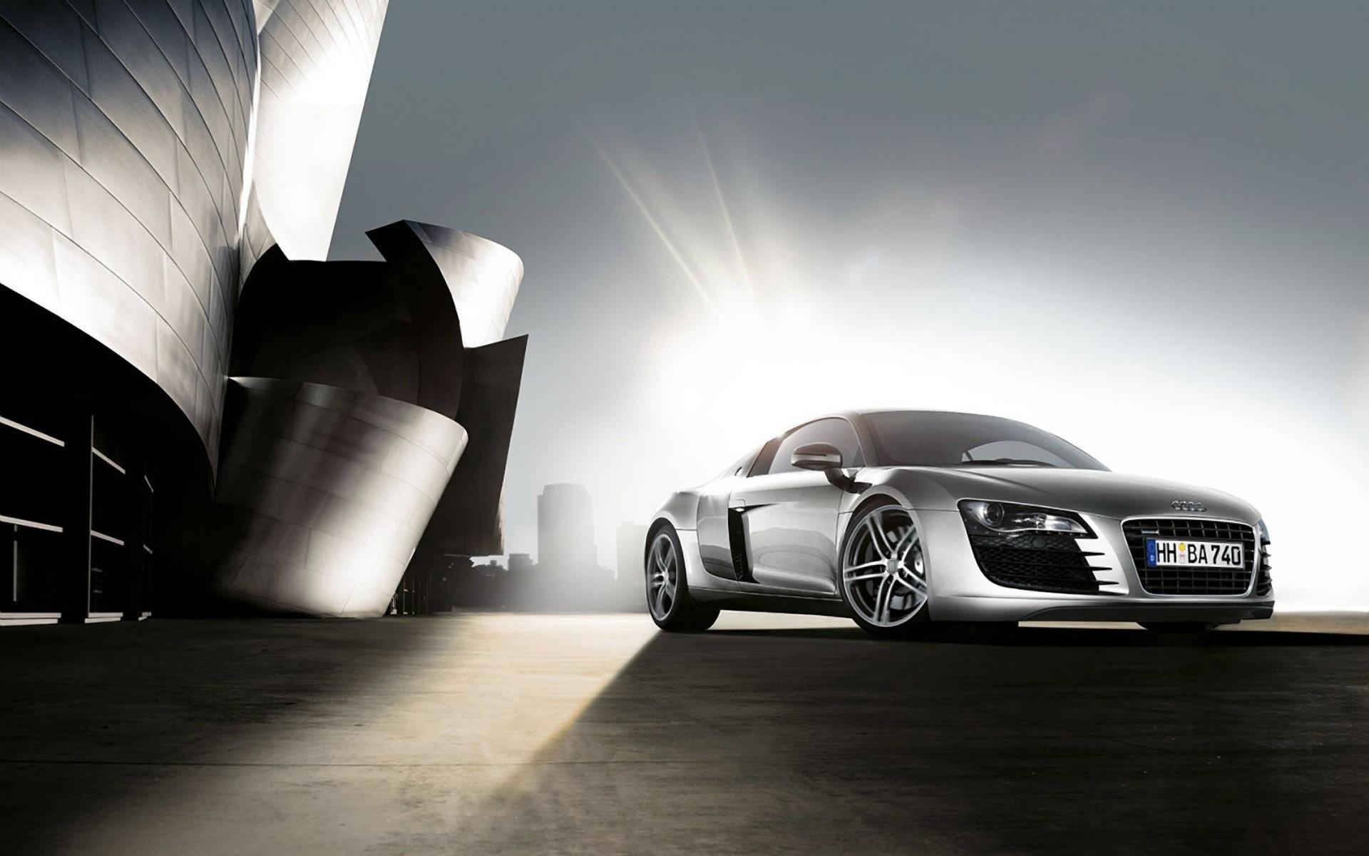 Audi в заброшенном ангаре без смс