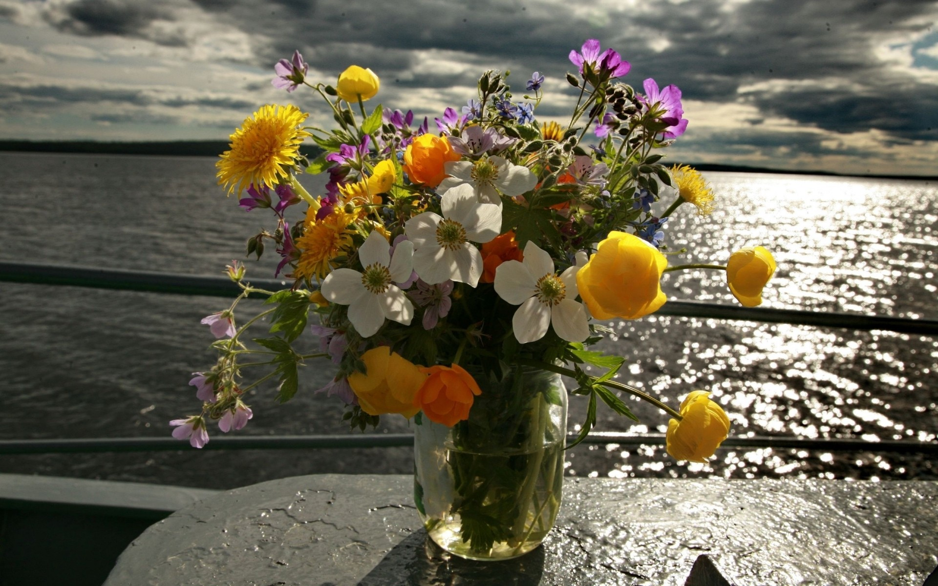 работы открытки цветы и море фото начну именно лимонада