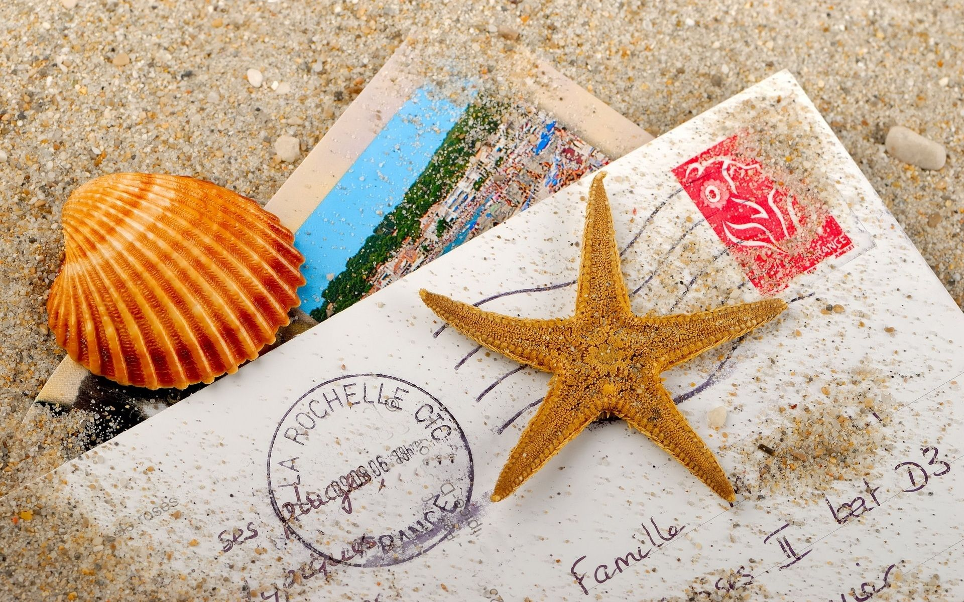 Красивые открытки путешествие