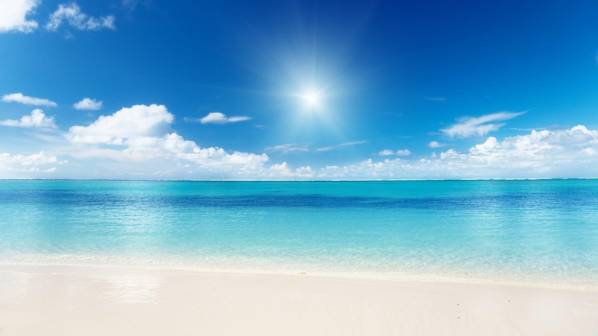 Пляж тропический обои 3