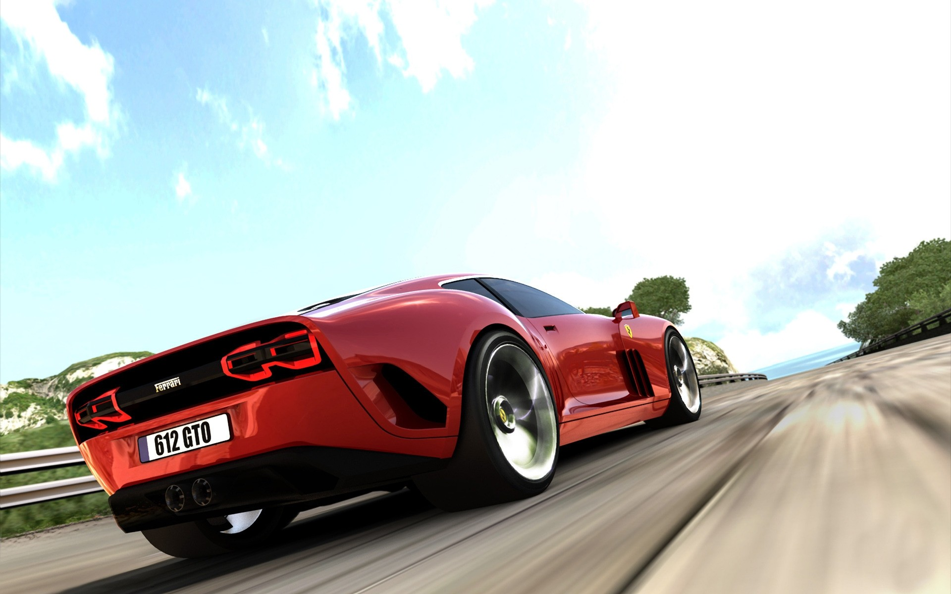 Ferrari дорога загрузить