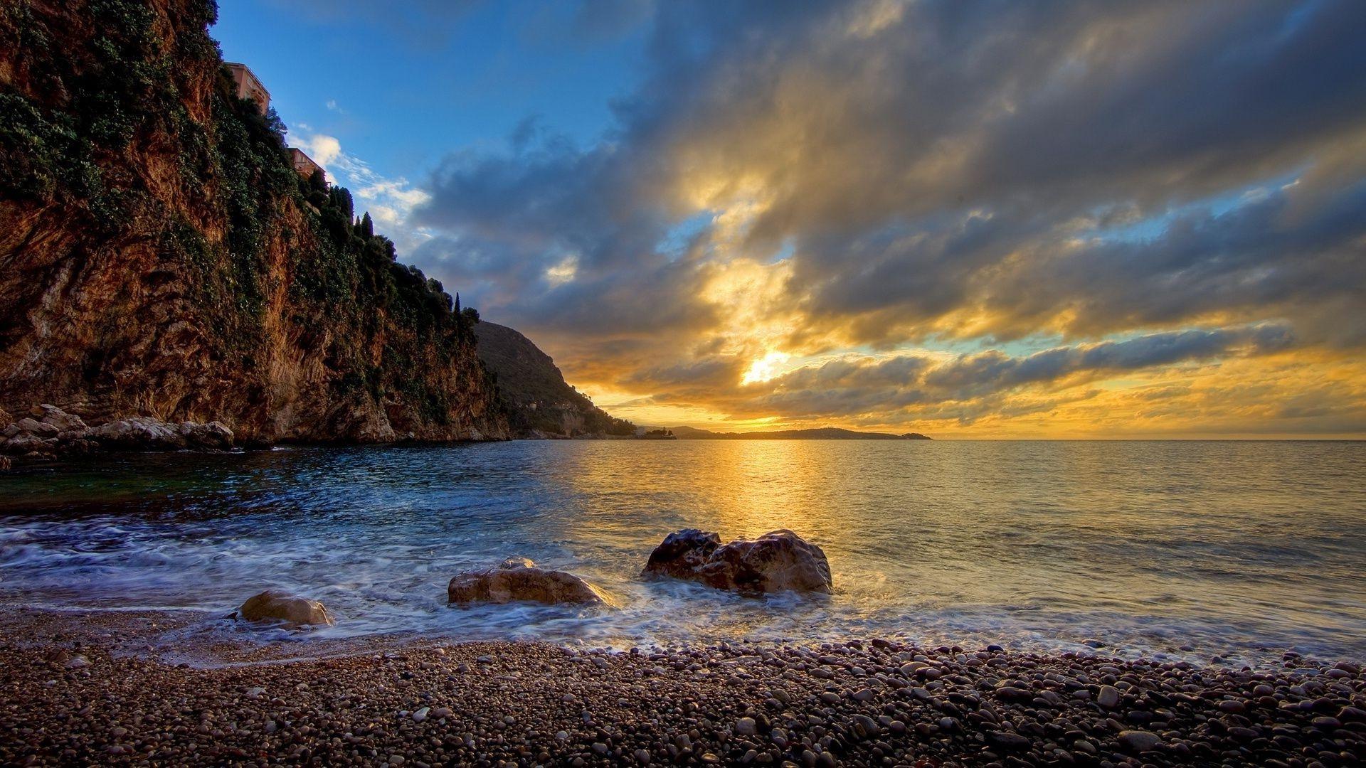 картинки на рабочий стол море горы природа черное море дважды