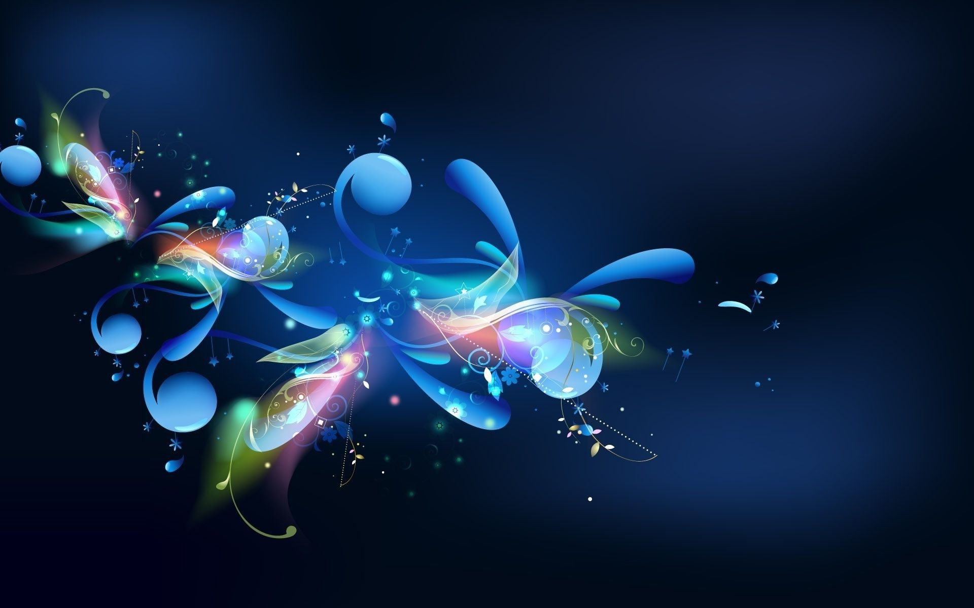 Обои Цвет, свет, узор. Абстракции foto 14