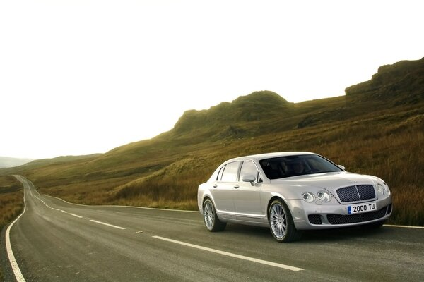 Bentley Continental Flying Spur 2009 Скорость