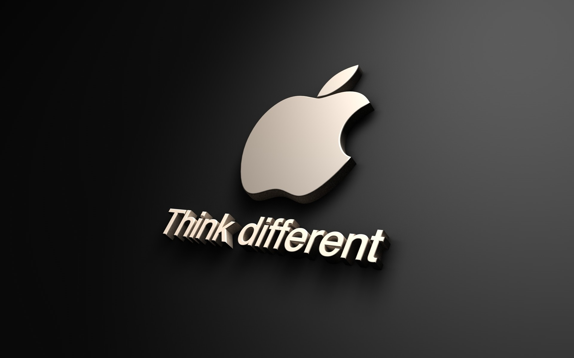 Think Different яблоко
