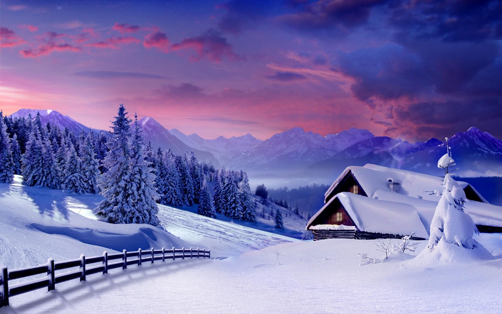 Картинки о зиме на рабочий стол