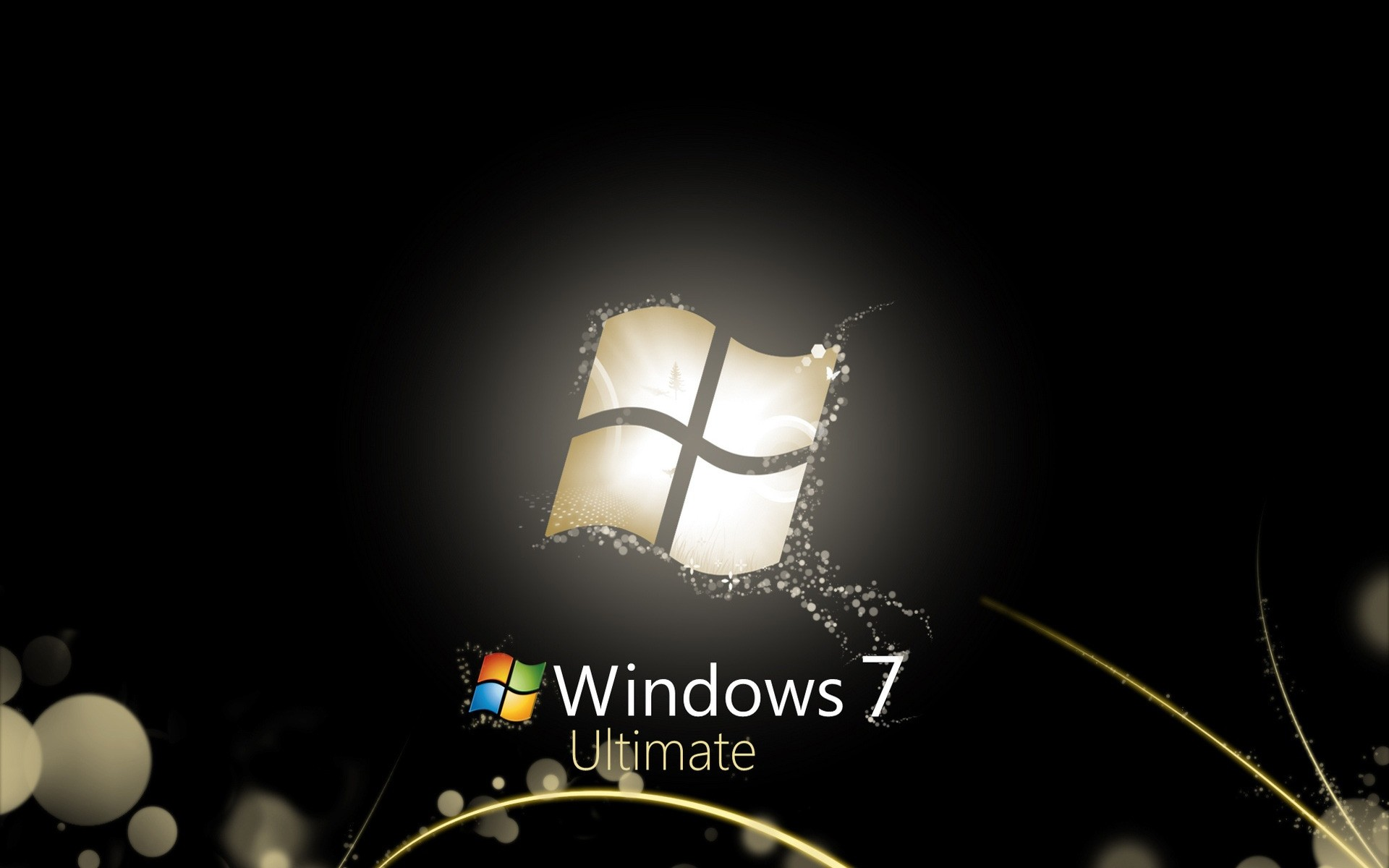 Черные Windows 7 Ultimate