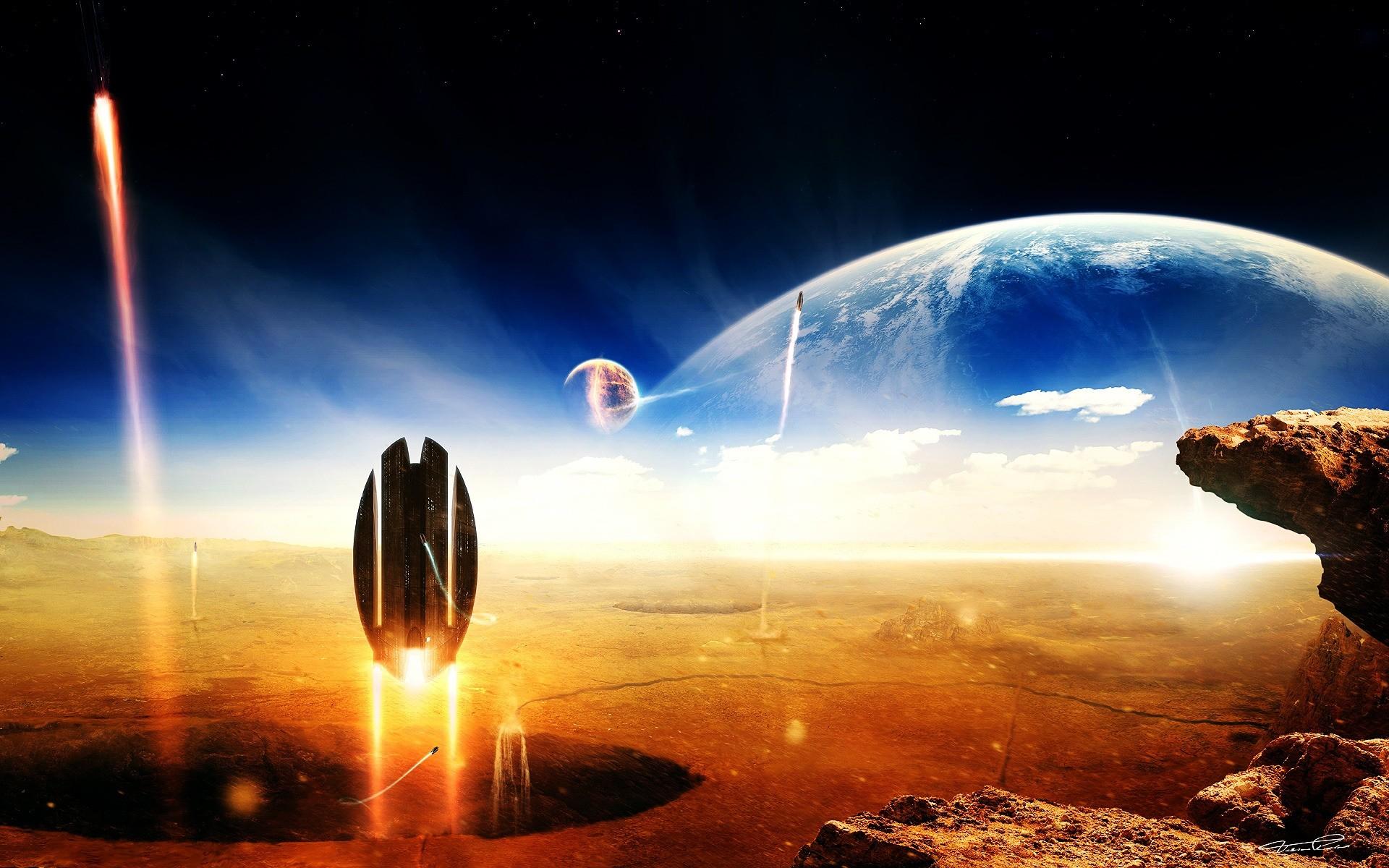 Картинка далеко в космос