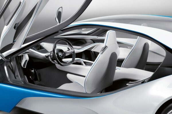 BMW Vision EfficientDynamics салон