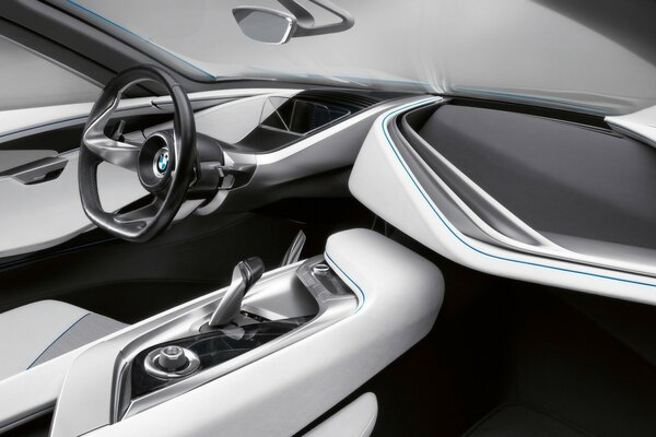 BMW Vision EfficientDynamics панель