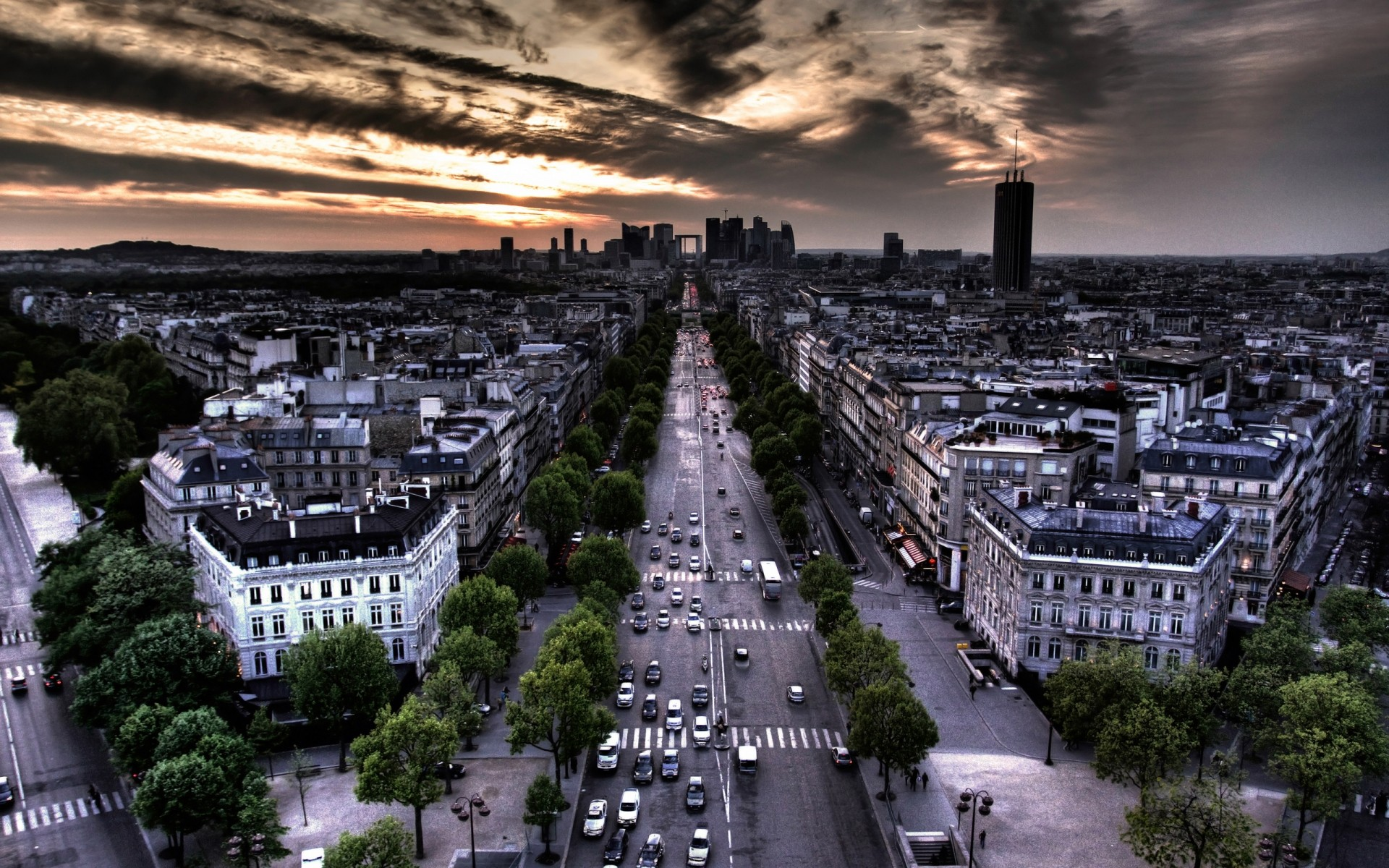 a view on the city of paris In paris in the park of villette, discover the cité des sciences and industry and its interactives exhibitions about innovation, space, the universe, transports, mathematics and soundsexperiment amazing hands-on activities.