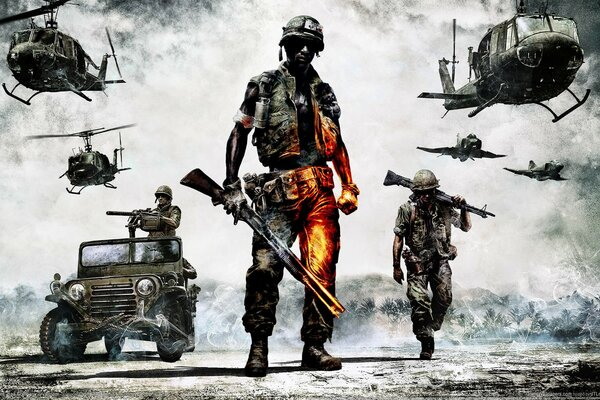 Battlefield Bad Company 2 игра