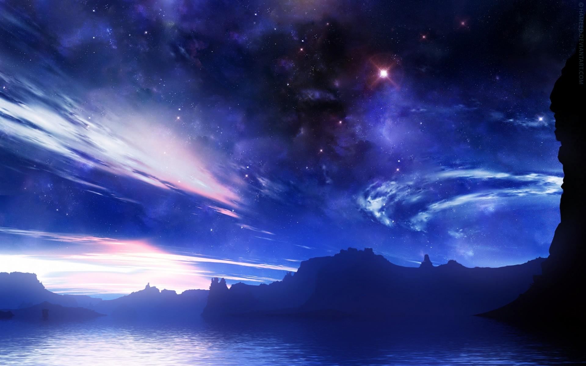 Очень красивые картинки на ночь, годовщину