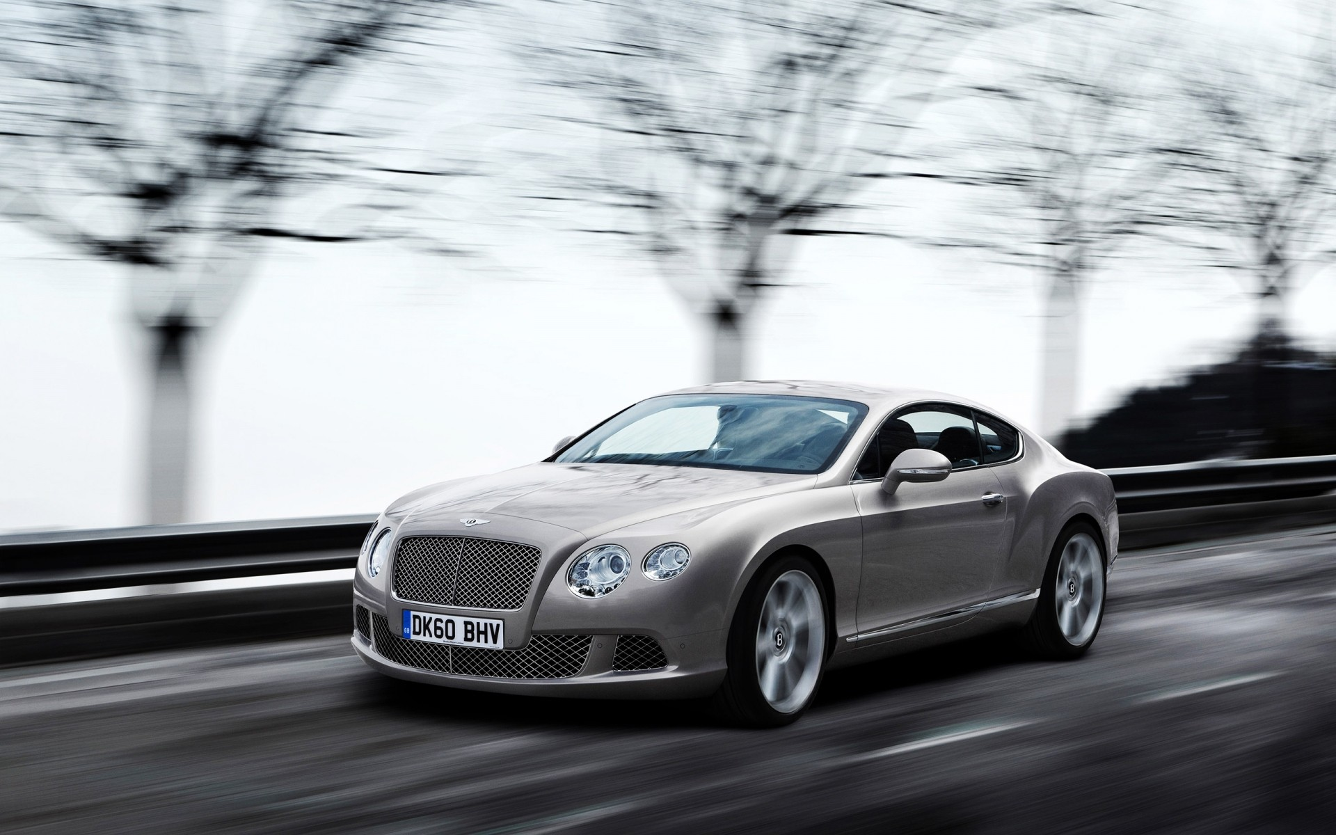 2011 Bentley Continental GT серый