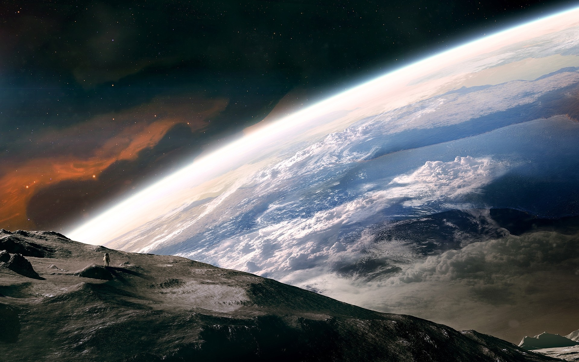 earth and space - HD1920×1080