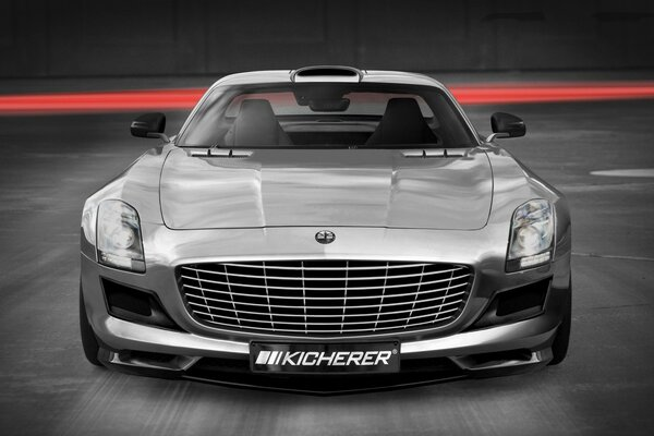 Kicherer Mercedes Benz SLS AMG передний