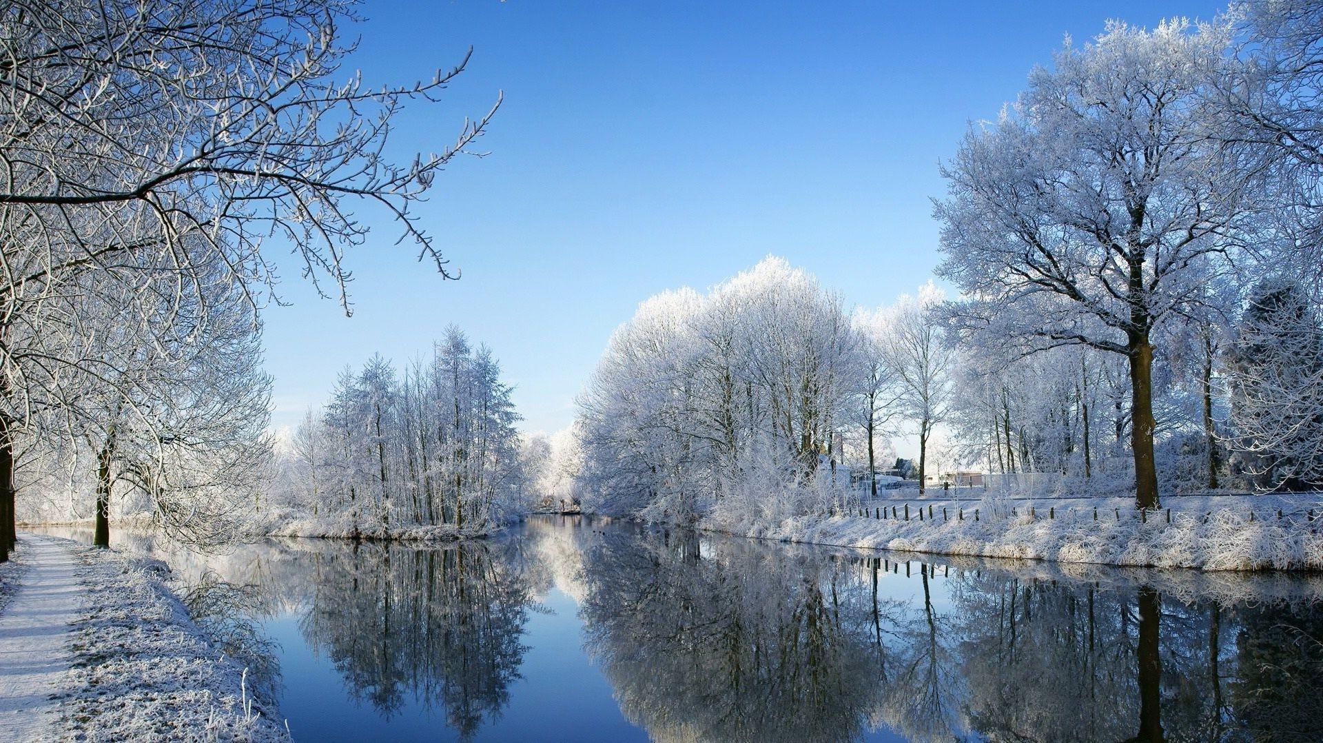 Обои зима на рабочий стол весна