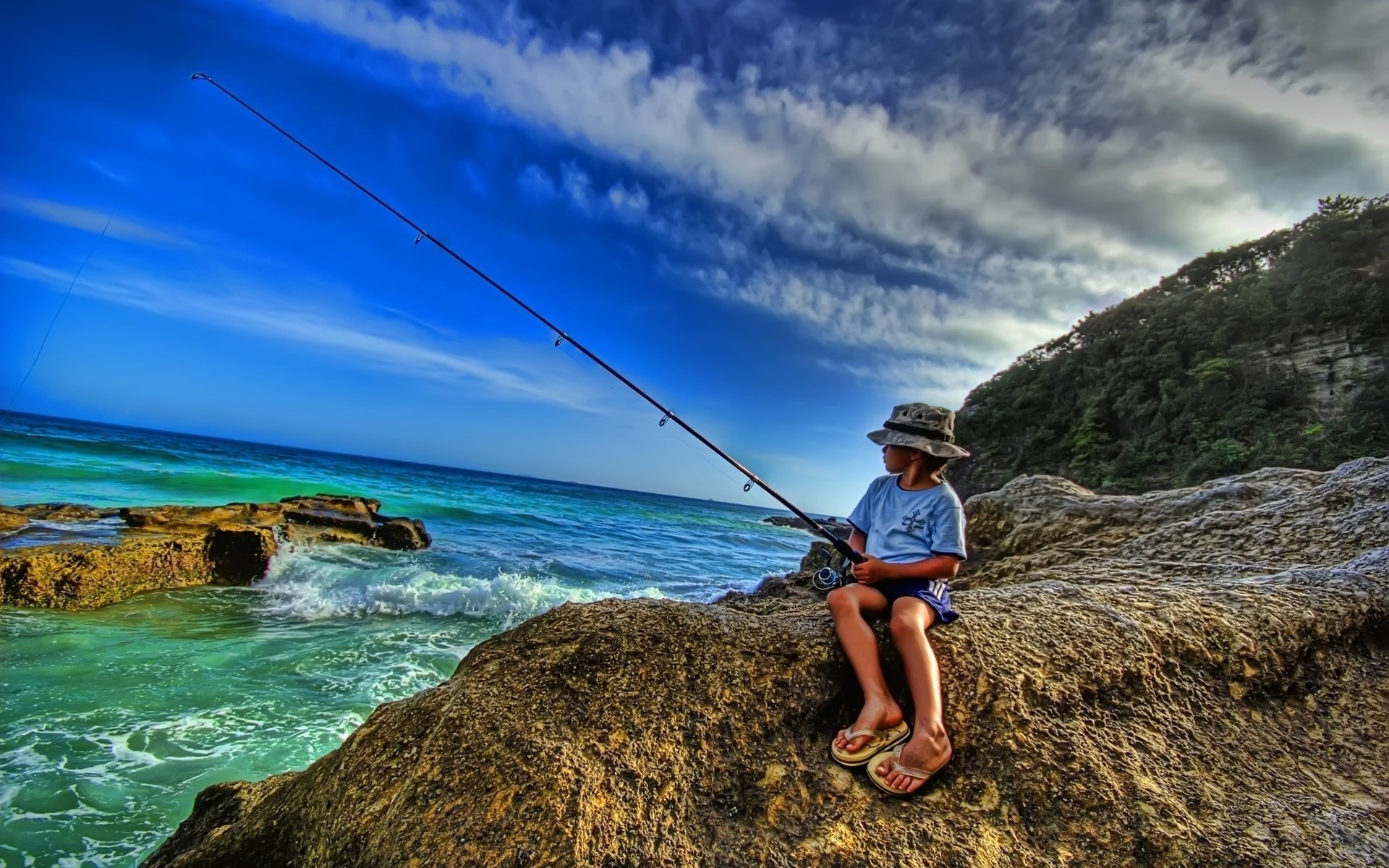 картинки про рыбалку на рабочий стол
