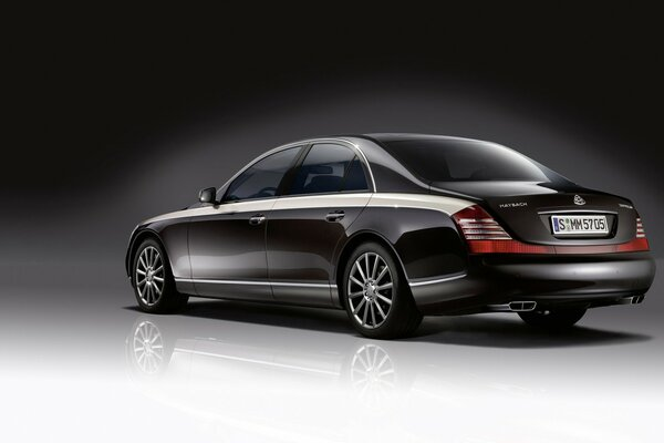 Maybach Zeppelin заднего