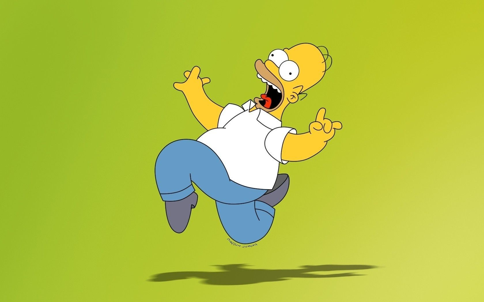 Гомер обои рабочий стол