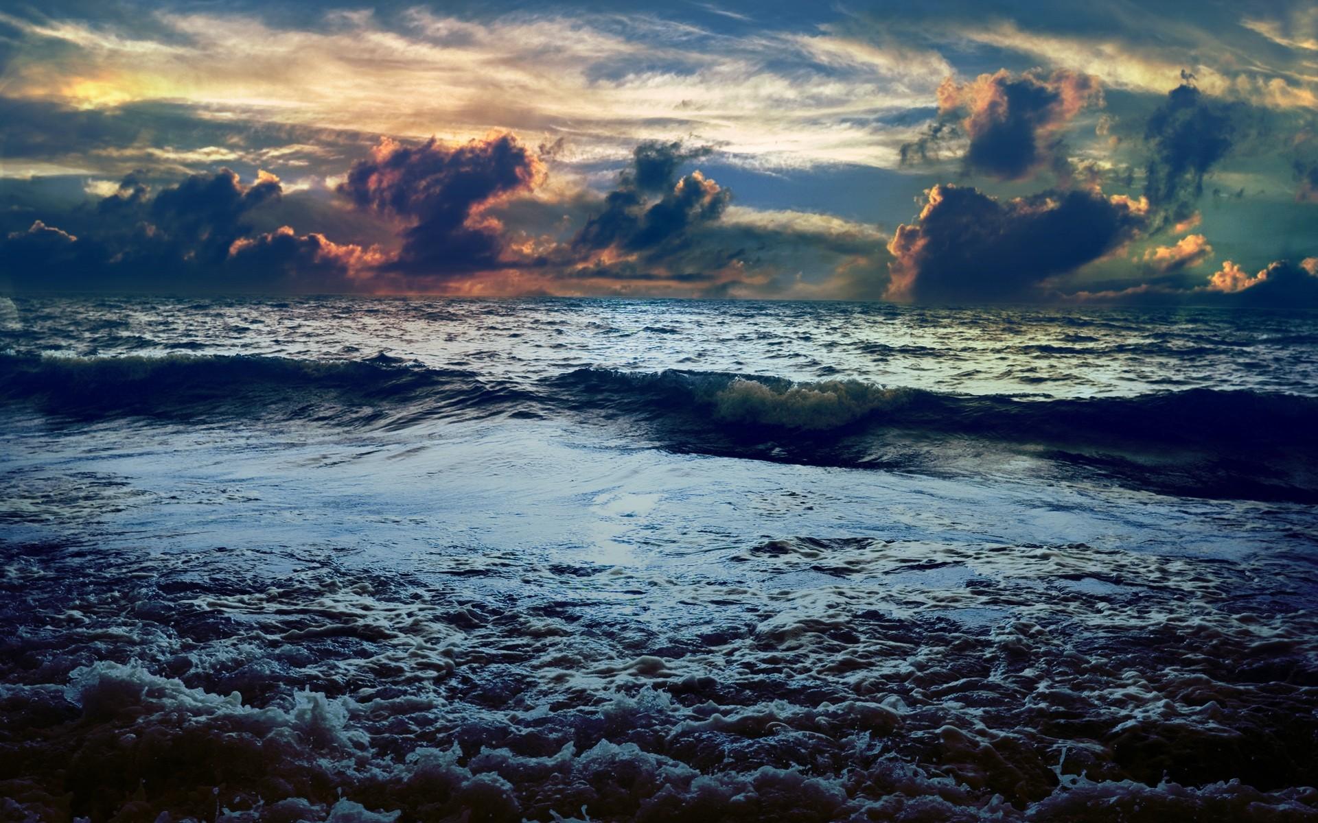 Обои волны. Пейзажи foto 6