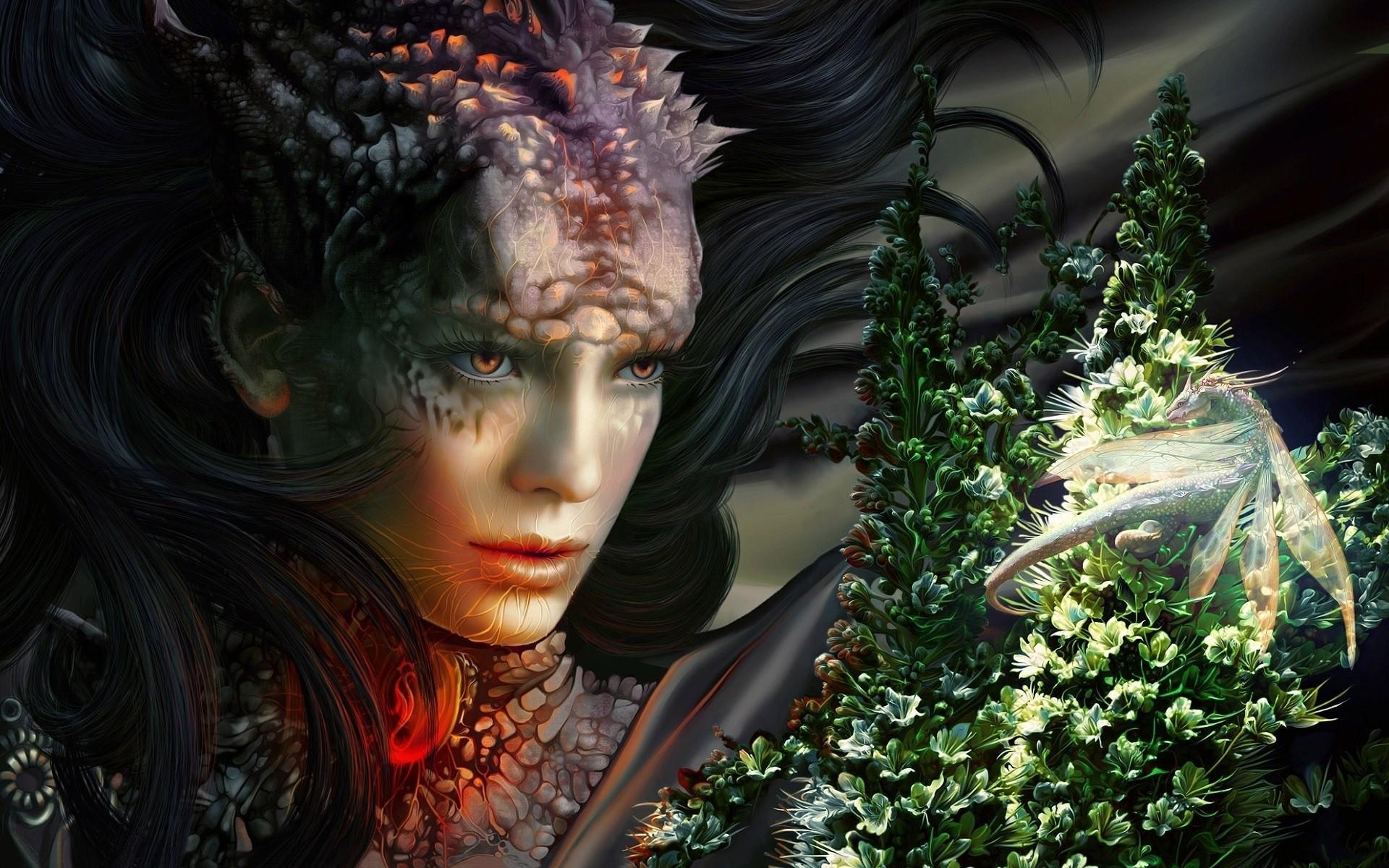 Картинки с эльфами и драконами