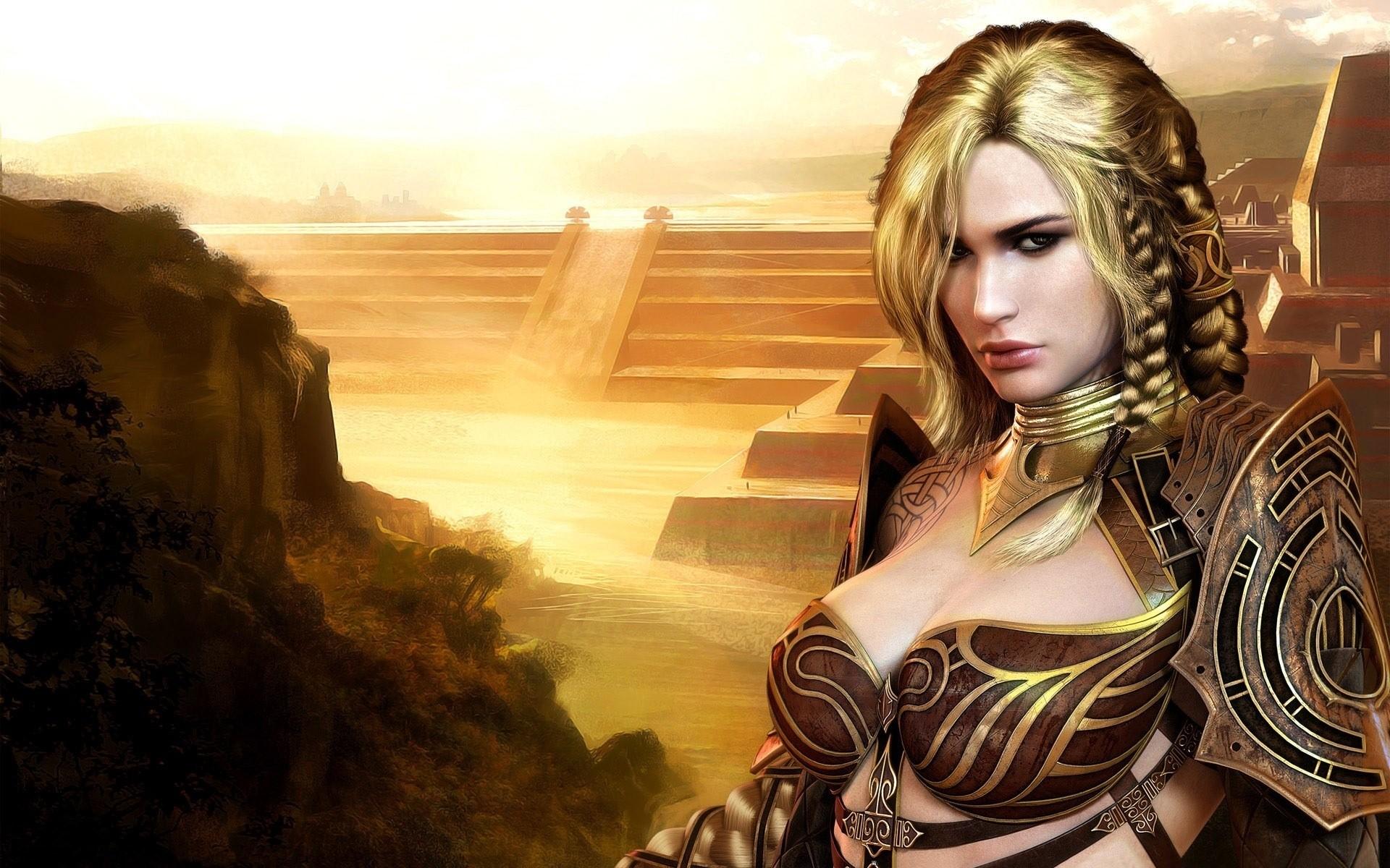 фото фэнтези девушки воины что сами