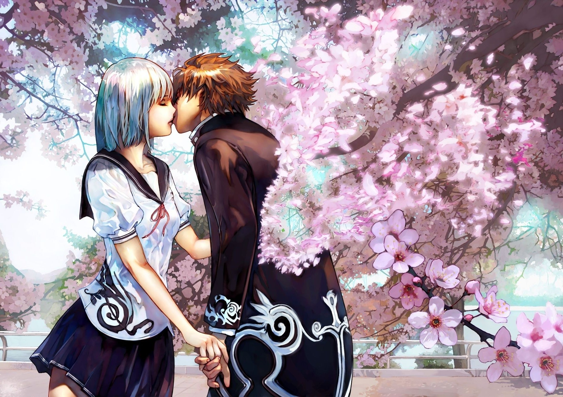 Anime Couple Cute Wallpapers  Android Apps on Google Play