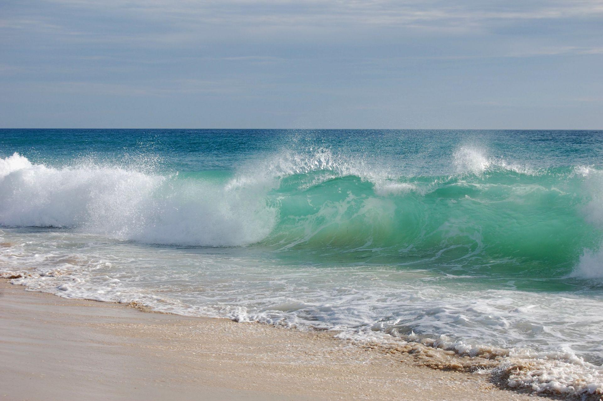 Обои волны. Пейзажи foto 13
