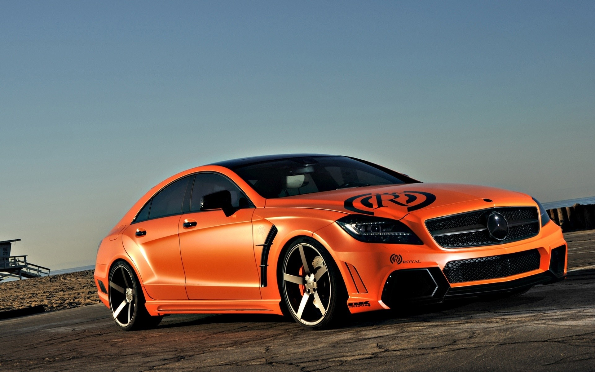Tuned Mercedes CLS