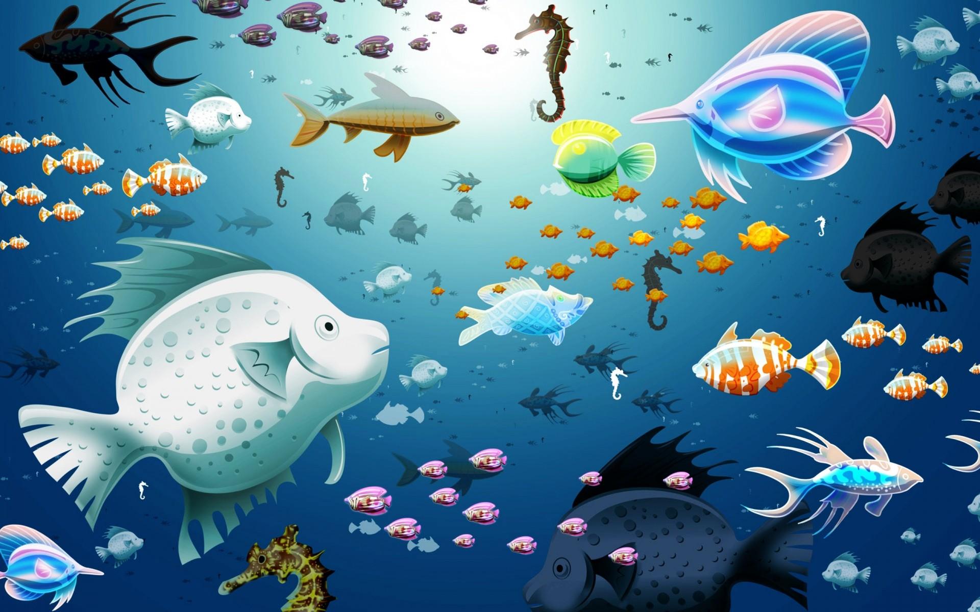 фоновые картинки с рыбками самом деле многие