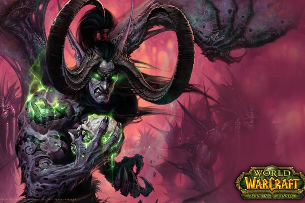 World of warcraft wow илидан череп