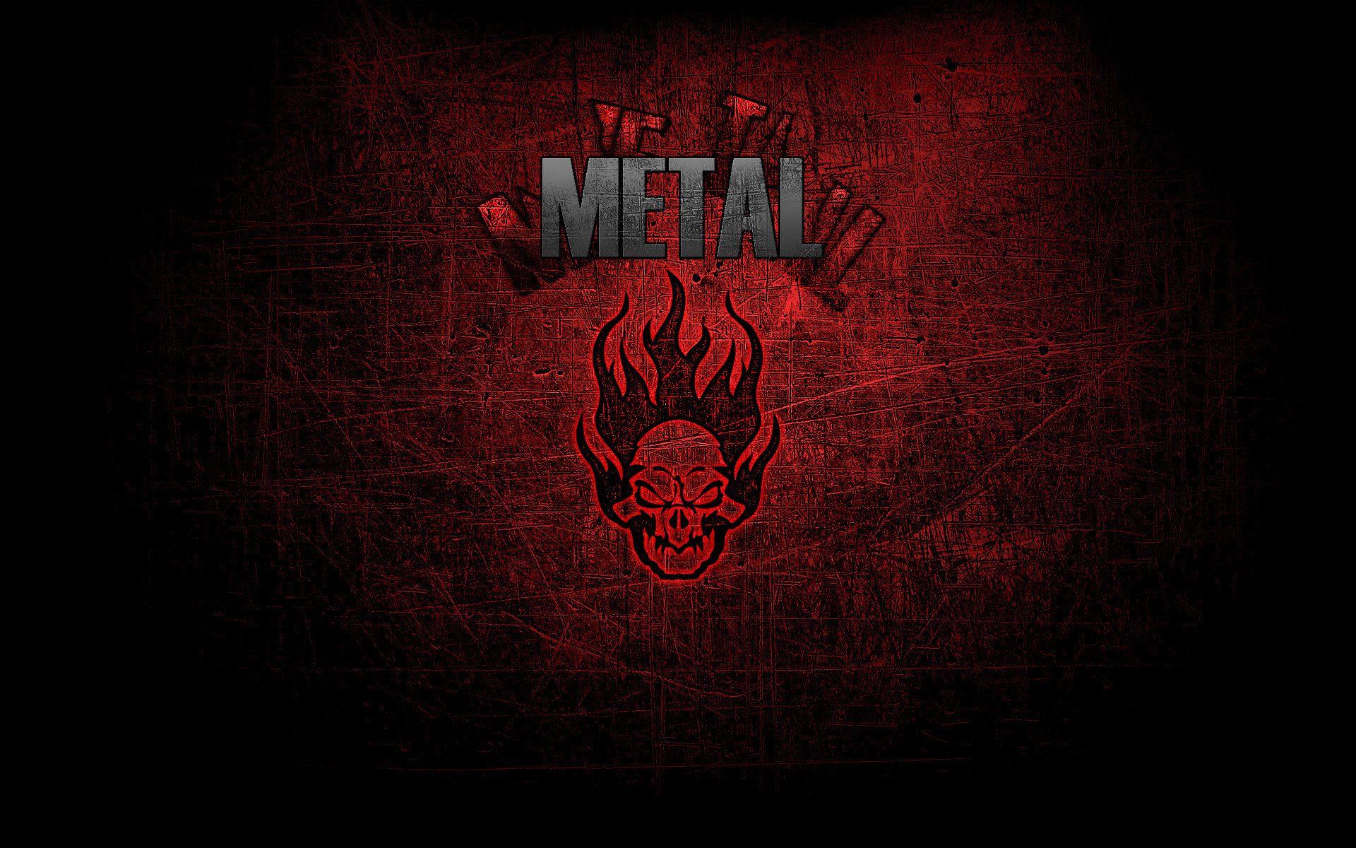 Метал музыка череп стиль metal