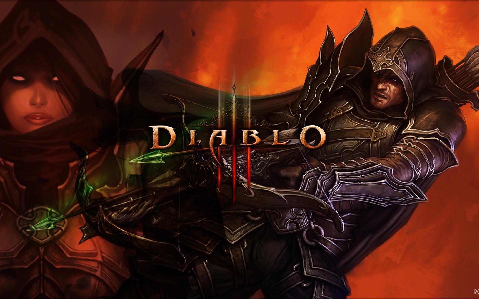 Demon Hunter Diablo 3  № 1892453 без смс