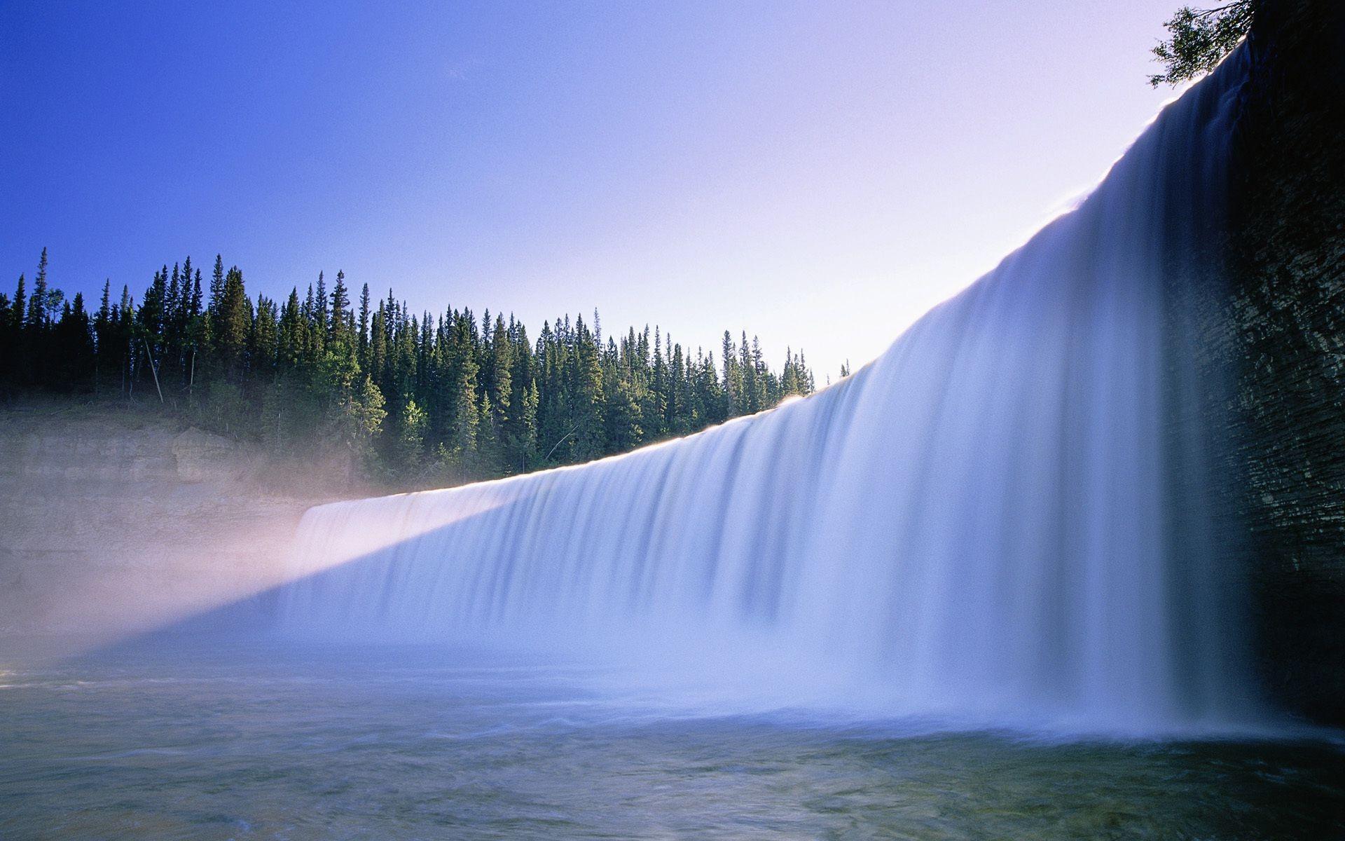 природа водопад  № 394114 загрузить