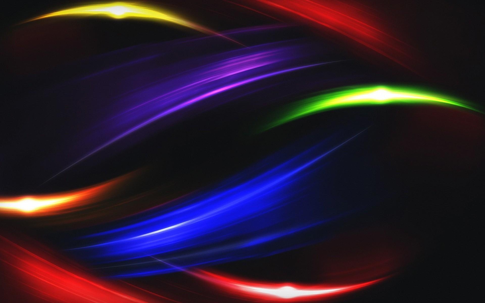 Абстрактные цветные волны без смс