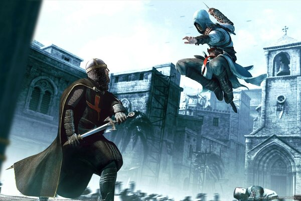 доспехи assassins creed Game мечь
