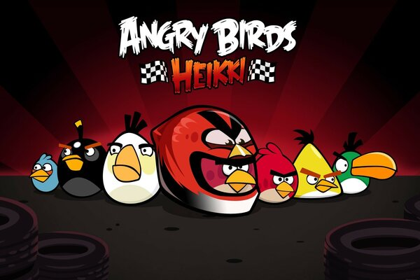 Angry Birds Хейкки