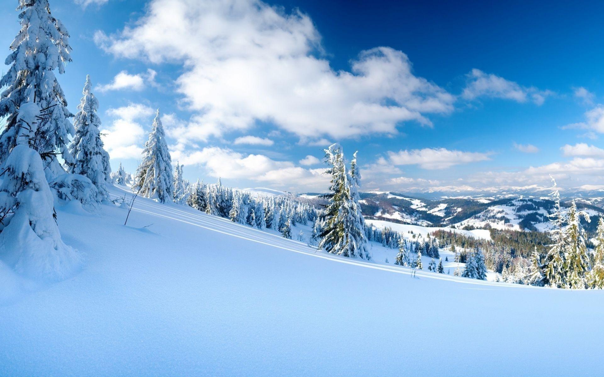 картинки зима снег на рабочий стол распашные, маленькой