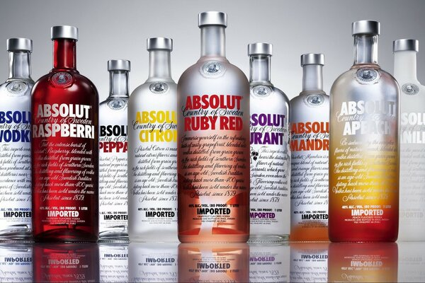 Absolut Vodka sortiments