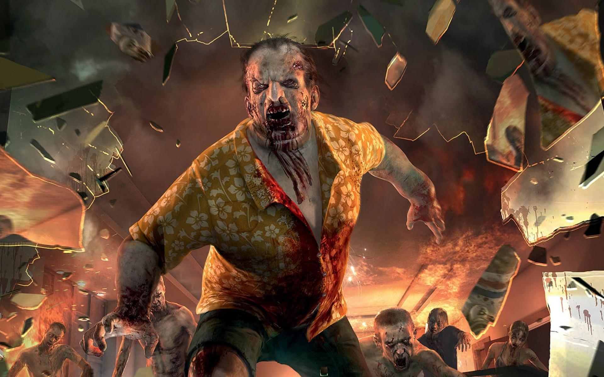 Зомби обои на рабочий стол скачать бесплатно