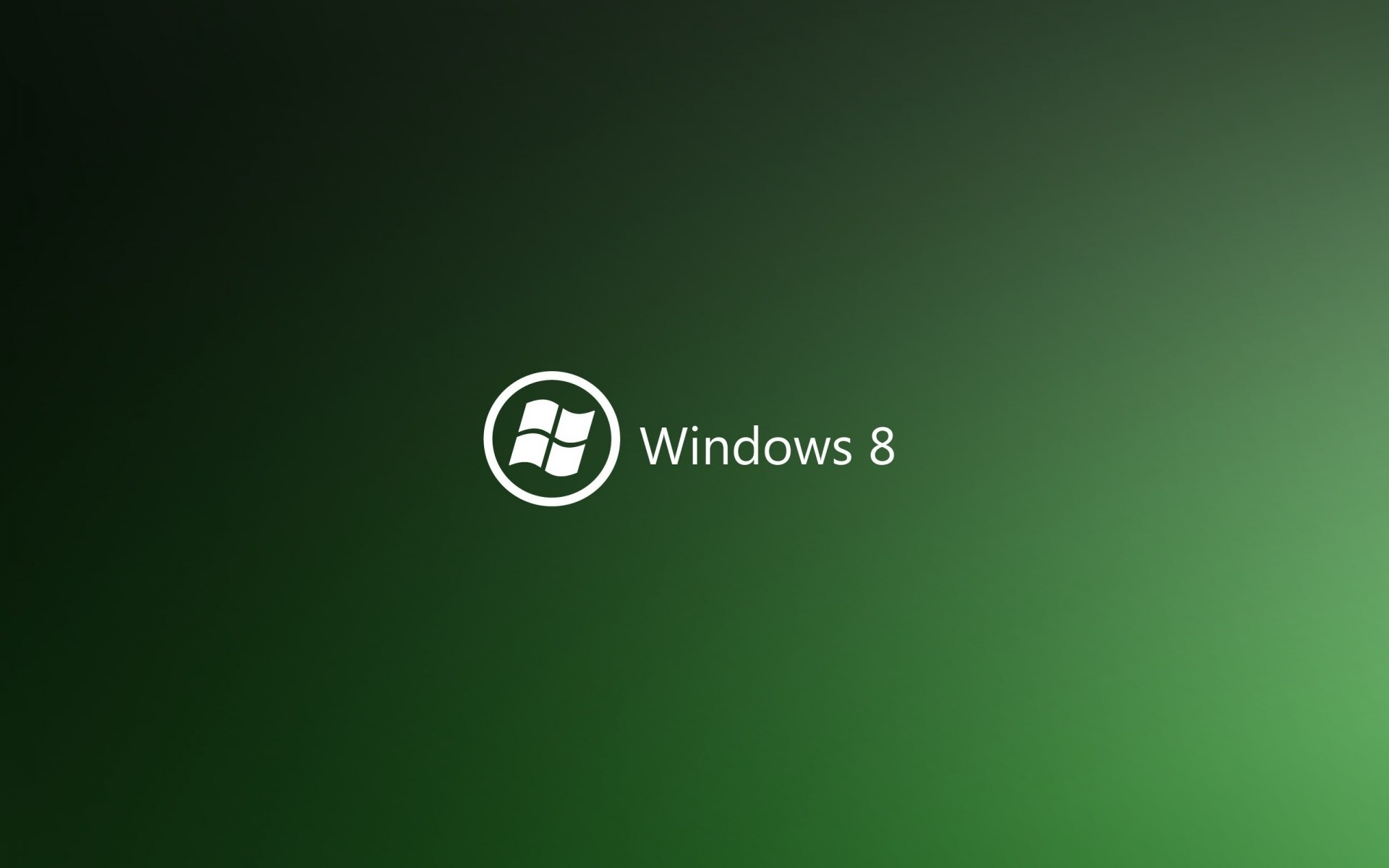 Green Windows 8