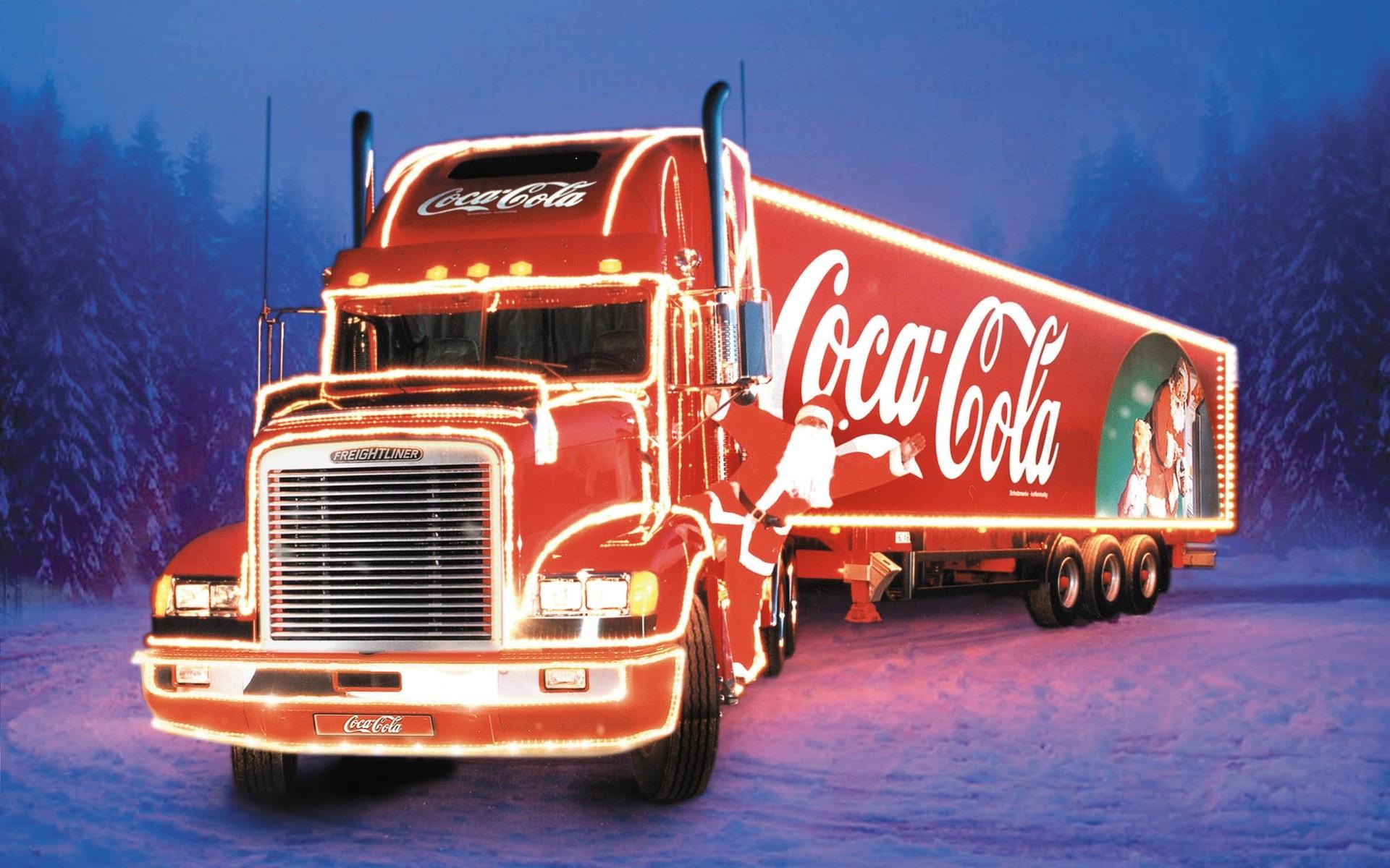 гифка картинка грузовика кока колы днем косметолога прозе