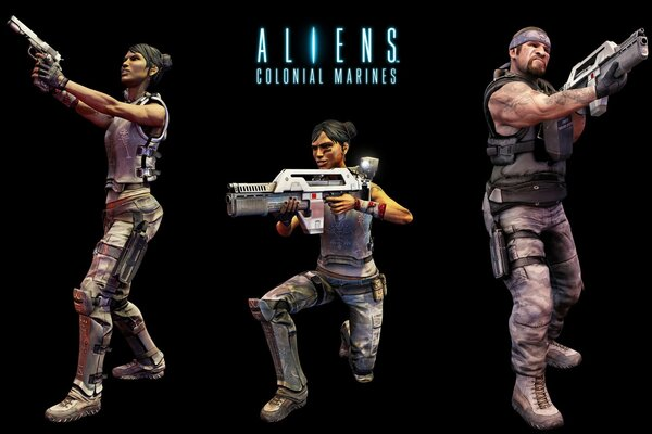 Иностранцы Colonial Marines