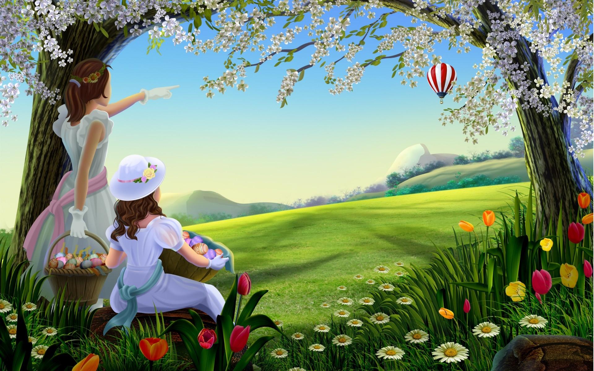 картинки красочные с весной