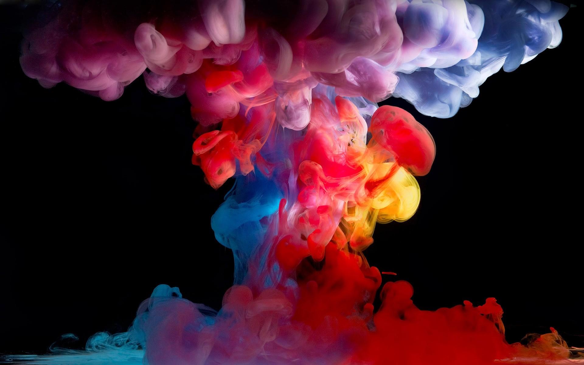 Обои яркость, Цвет, дым. Абстракции foto 11
