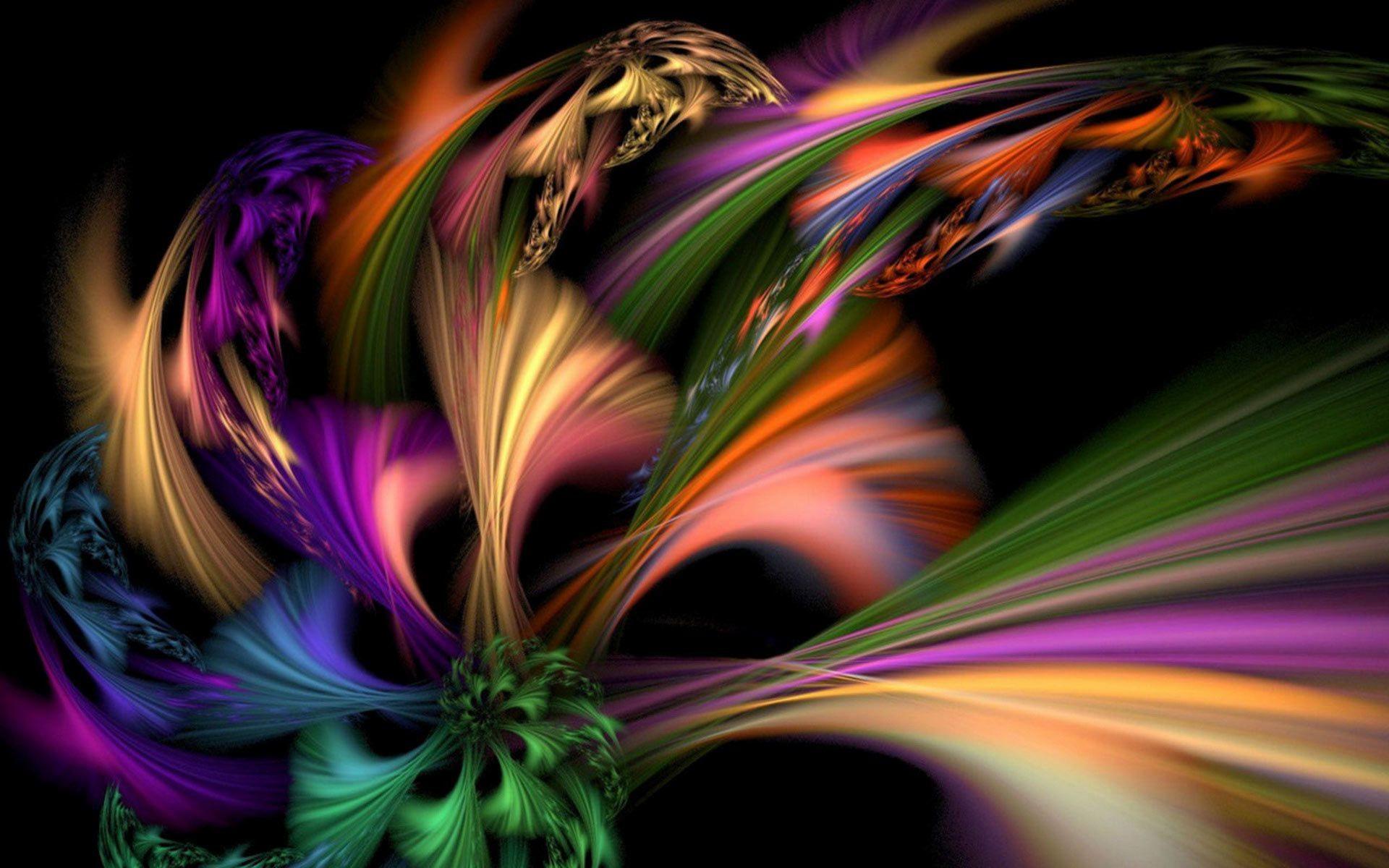 Цвета радуги красиво