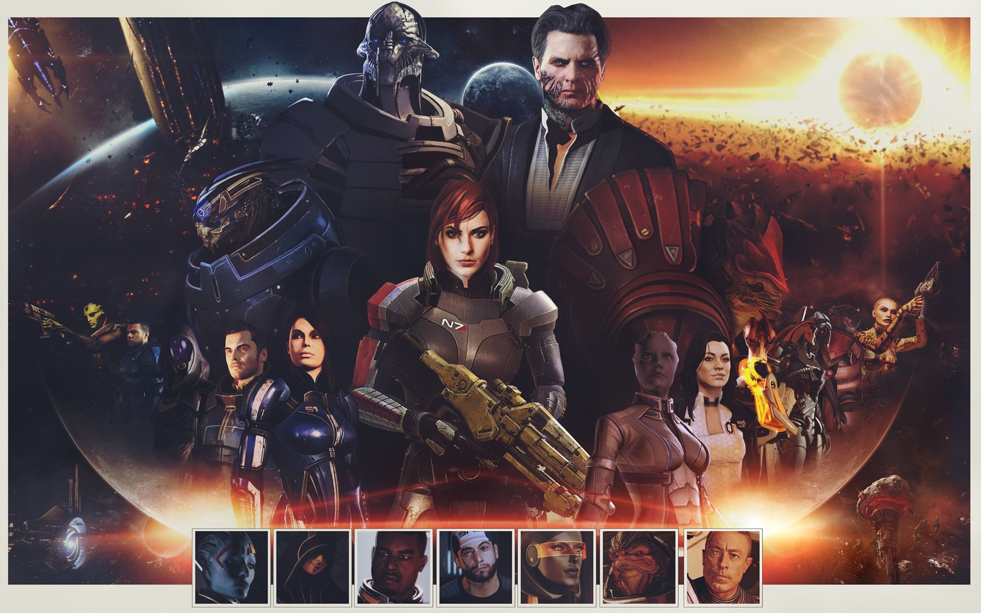 Mass Effect Заид Массани
