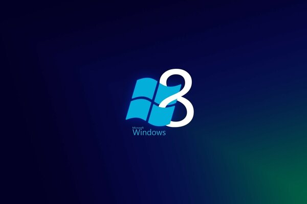 Windows 8 синий стиль