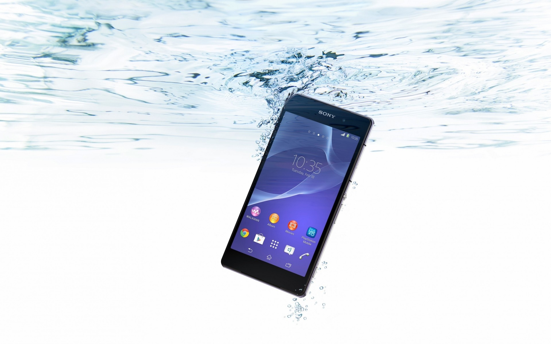 Sony Xperia z2 водонепроницаемый